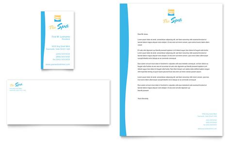 Beauty Spa Business Card & Letterhead Template