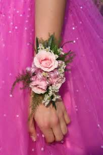 prom wrist corsage and boutonniere car interior design