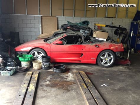 Find cars for sale by condition. Ferrari F355 Spider wrecked, Kitchener, Canada