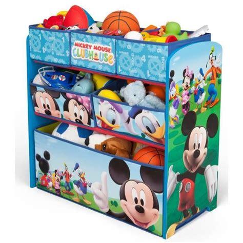 mickey meuble de rangement enfant jouets 6 bacs achat