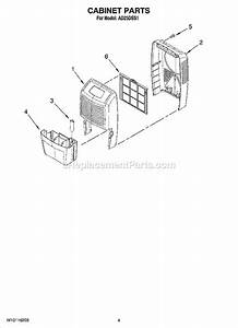 Whirlpool Ad25dss1 Parts List And Diagram