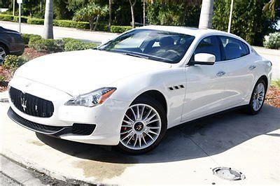 Maserati Quattroporte Msrp by Buy New 2014 Maserati Quattroporte S Q4 Luxury Package