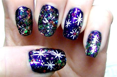 16 New Year Nail Art Designs For 2016