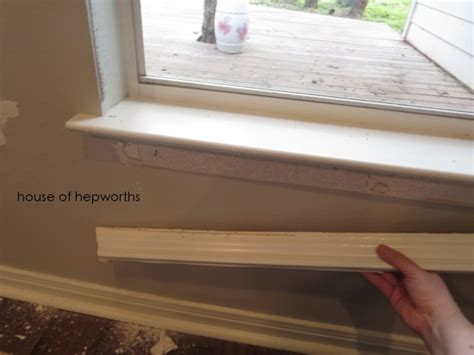 Changing Window Sills by Craftsman Style Moulding Makes Me Happy House Of Hepworths