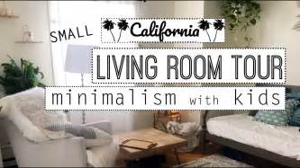 Small Minimalist Living Room Tour Minimalism With Kids