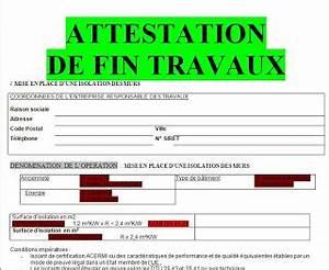 Declaration Achevement Travaux : attestation fin de travaux modele attestation de fin de ~ Melissatoandfro.com Idées de Décoration