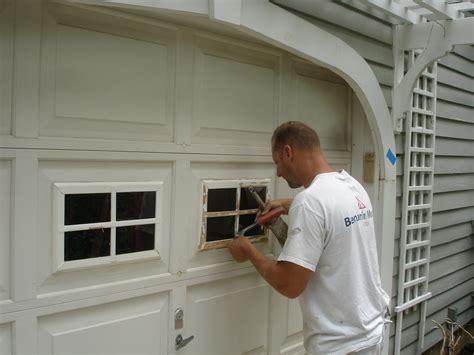 How To Repair Garage Door Panels  Large And Beautiful