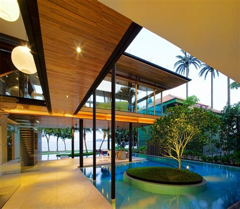 Modern Luxury Tropical House Most Beautiful Houses The