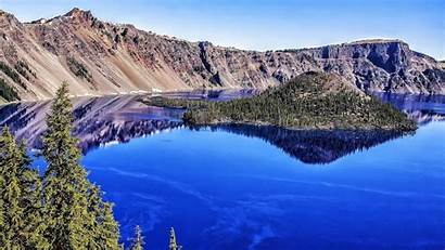 Crater Lake Oregon National Park Wallpapers Cave