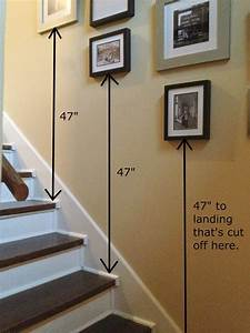 How, To, Hang, Pictures, In, Stairwell