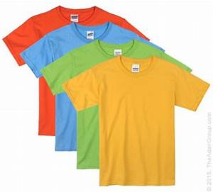 Bright Color Kids T Shirts
