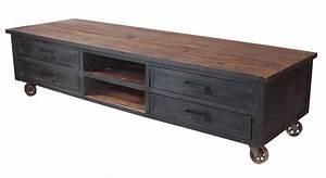 Vintage Tv Schrank : industrie design lowboard tv schrank massivholz sideboard vintage look neu 413 sit ~ Whattoseeinmadrid.com Haus und Dekorationen