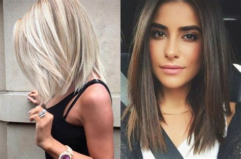 trendy lob hairstyles    today hairdromecom