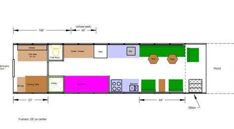skoolie conversion floor plan floor plans unlimited outside found school conversion