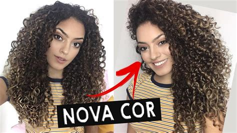 novo corte ombre hair do meu cabelo cacheado youtube