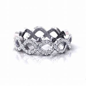 infinity wedding rings With infinity design wedding ring