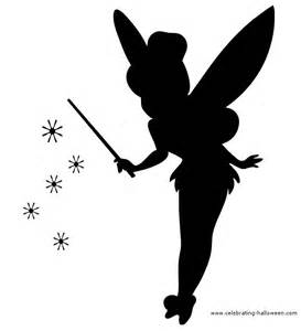 Free Tinkerbell Pumpkin Carving Patterns tinkerbell fairy stencil free pumpkin carving stencil