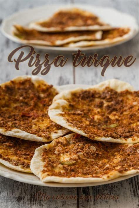 recette de cuisine halal lahmacun recette pizza turque blogs de cuisine