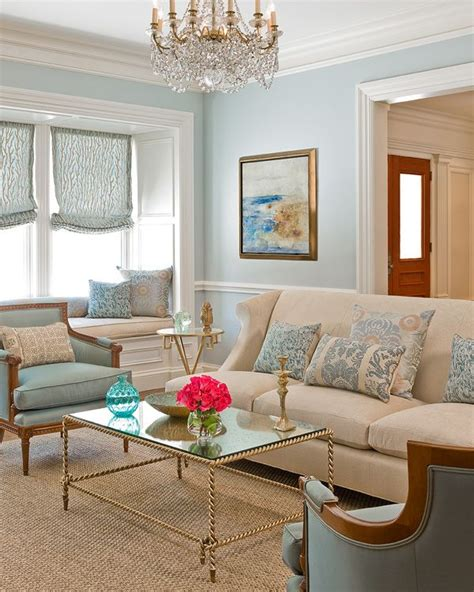 Living Room With Blue Decor by Blue Living Room Gold Accents Inspiring Living