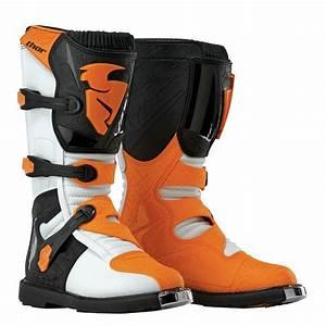 Botte Cross Enfant : bottes de motocross enfant thor blitz blanc orange ~ Dode.kayakingforconservation.com Idées de Décoration