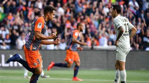 Montpellier vs. Paris Saint-Germain - Football Match ...