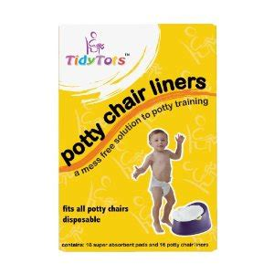 free sle of tidy tots disposable potty chair liners