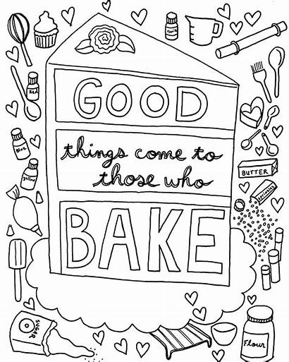 Coloring Cake Pages Adult Adults Colouring Printable