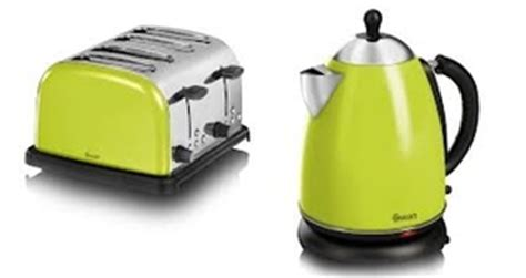 Green Kettle And Toaster Set - lime green microwave kettle and toaster bestmicrowave