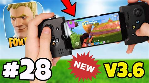 controller support  added   fortnite mobile