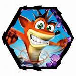 Crash Bandicoot Icon Bobs Crack Alarm Icons