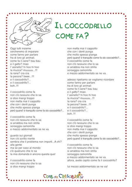 il coccodrillo come fa testo canzone il coccodrillo come fa testo da stare