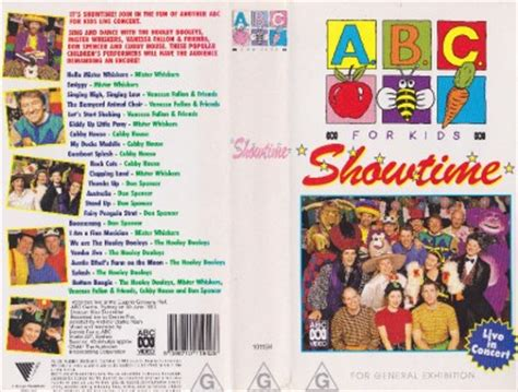 abc for showtime pal vhs a find ebay