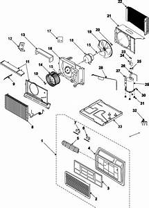 Samsung Aw069cb Room Air Conditioner Parts