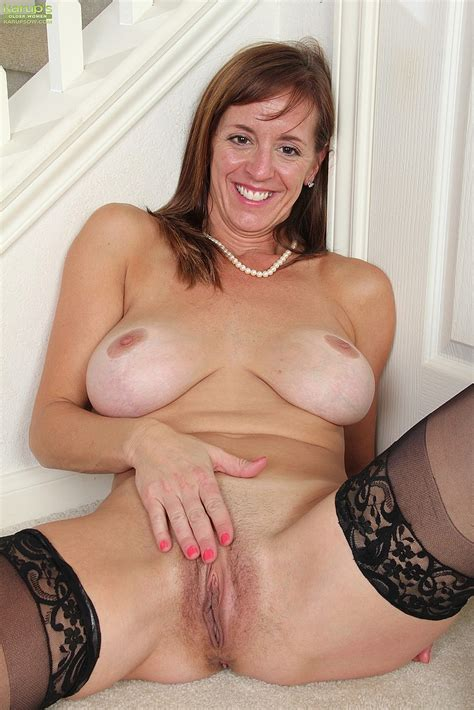 Redhead Milf Karen Jones Finger Her Cherry Milf Fox
