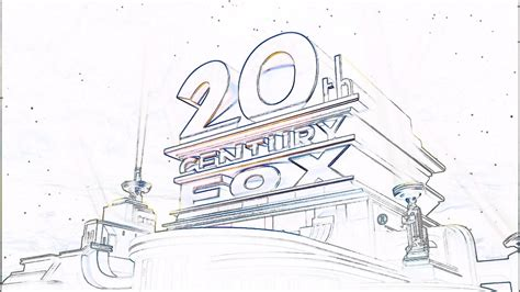 20th Century Fox Logo Coloring Pages