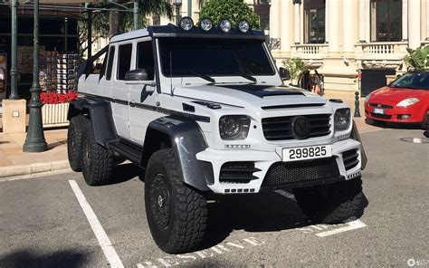 6 X 6 X 6 X 6 by Mercedes Mansory Gronos G 63 Amg 6x6 19 May 2017