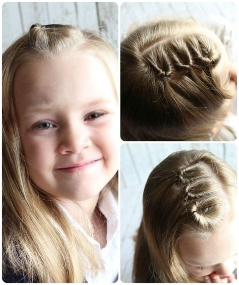 Easy Kid Hairstyles by Easy Hairstyles Tutorials Easy Hairstyles For