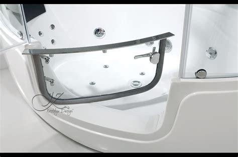 baignoire d angle avec portes pivotante allya 4