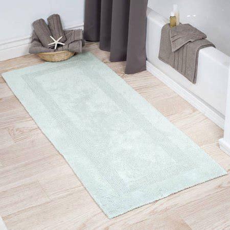 plush  cotton  long bathroom rug runner