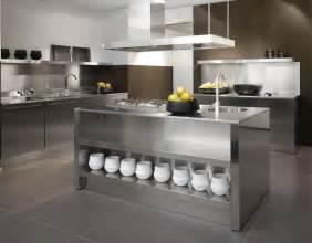 stainless kitchen island stainless steel kitchen designs