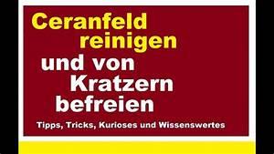 Ceranfeld Reinigen Kratzer : verschmutztes ceranfeld reinigen von kratzern befreien hausmittel kratzer entfernen pflegen ~ Orissabook.com Haus und Dekorationen