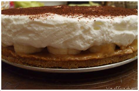 recette de dessert anglais banoffee pie une bombe so delicious une affaire de go 251 t