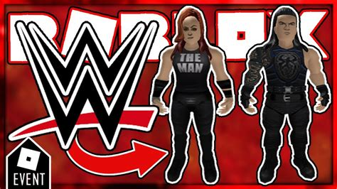 leaks roblox wwe rthro packages part  roblox wwe event