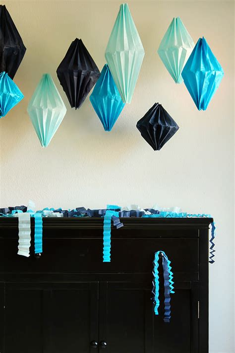 easy diy paper party decorations handmade charlotte