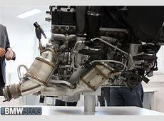 New BMW M3 and BMW M4 Engine Photos