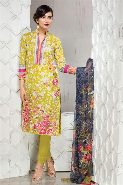 khaadi lawn chiffon eid dresses collection
