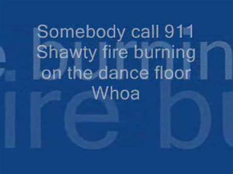 Sean Kingston Fire Burning Lyrics   Somebody Call 911