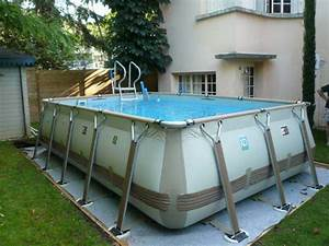 Piscine Hors Sol : piscine hors sol basse normandie delalande piscines ~ Melissatoandfro.com Idées de Décoration