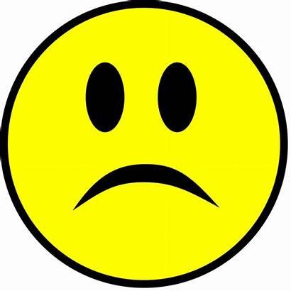 Sad Smiley Yellow Simple Svg Pixels Wikimedia