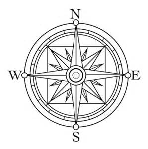 Compass Rose Coloring Page Clipart Best 14105881 Aouous